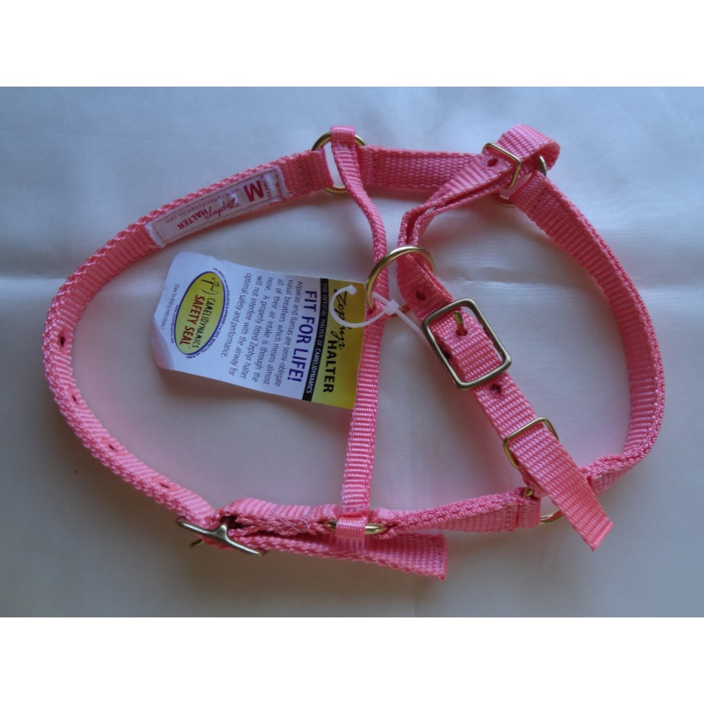 Alpaca Halters - Limited Sizes Pink