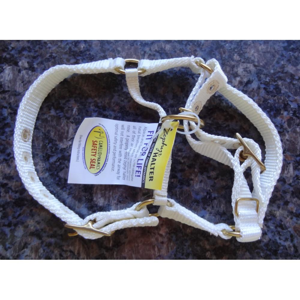 Alpaca Halters - Limited Range White