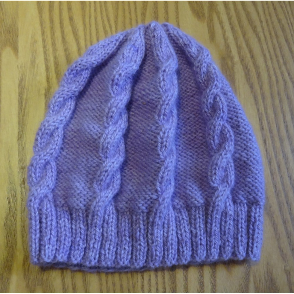 Alpaca Beanie - Mauve (Children and Toddlers)