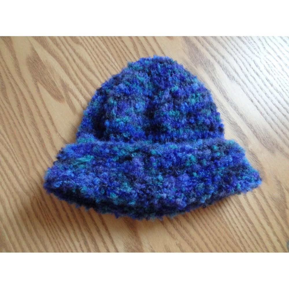 Alpaca Hat - Bouclé Sapphire (Child 4-10)