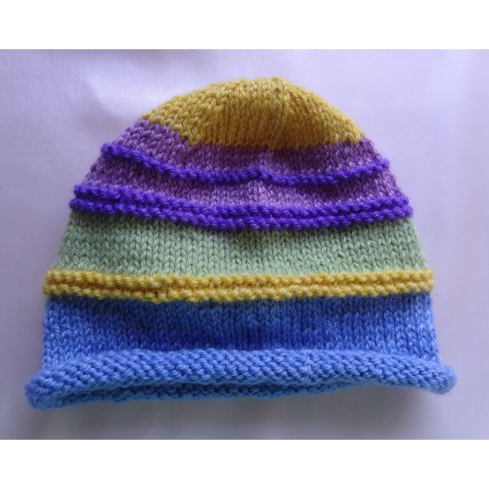 Alpaca Striped Hat - Boys (Toddlers and Children)