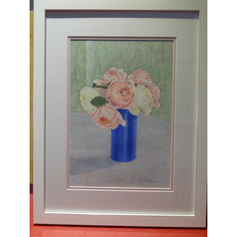 David Austin Roses (Pastel Pencil)